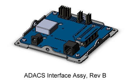 CubeSat Kit ADACS Interface Module Assembly
