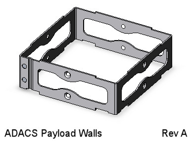 CubeSat Kit ADACS Payload Walls Assembly
