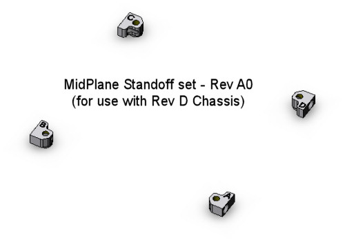 CubeSat Kit Midplane Standoffs