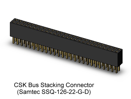 CubeSat Kit Stacking Bus Connector